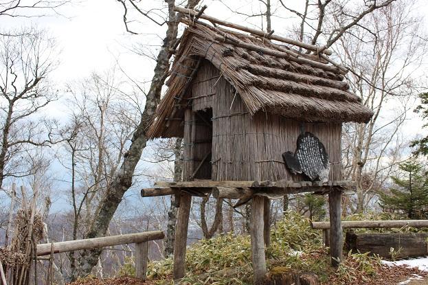 2014北海道旅行:のぼりべつクマ牧場 アイヌコタン プ