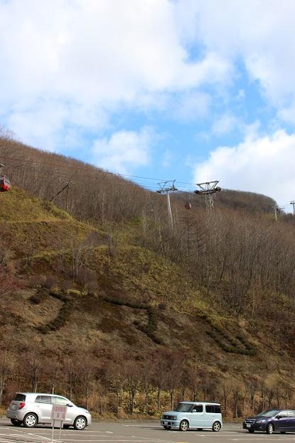 2014北海道旅行:のぼりべつクマ牧場 駐車場2