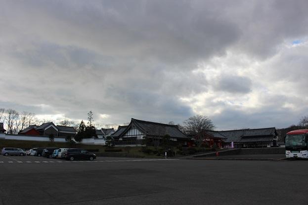 2014北海道旅行:登別伊達時代村 駐車場