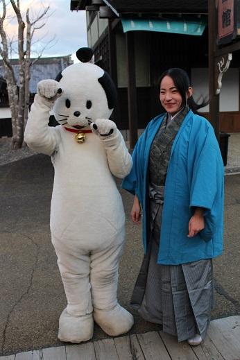 2014北海道旅行:登別伊達時代村 にゃんまげ 五月