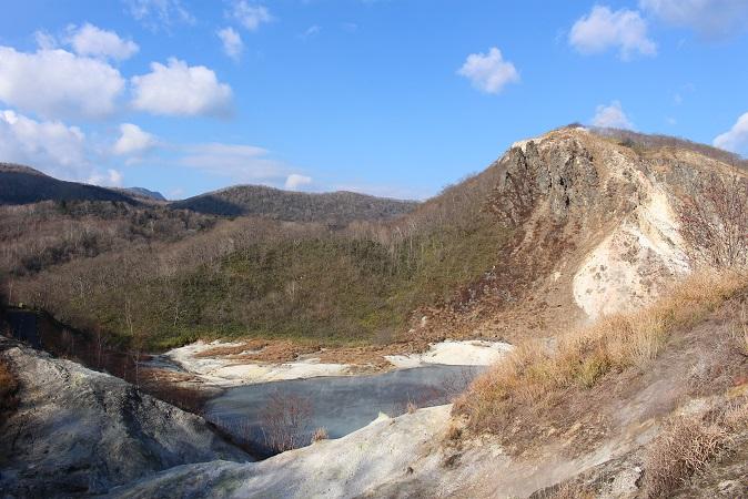 2014北海道旅行:登別温泉 国立公園 大湯沼