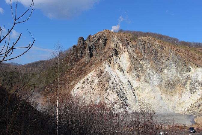 2014北海道旅行:登別温泉 国立公園 大湯沼2