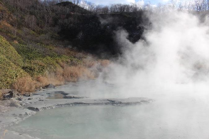 2014北海道旅行:登別温泉 国立公園 奥の湯2