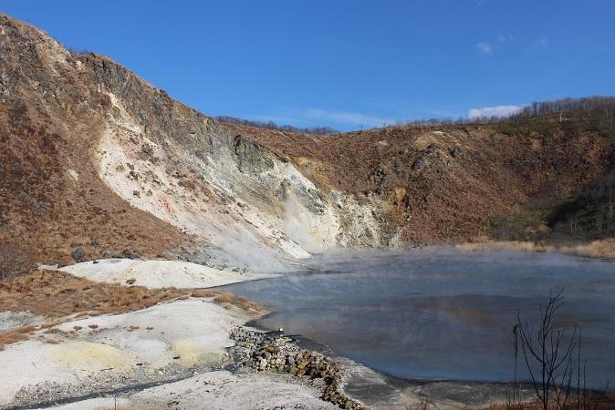 2014北海道旅行:登別温泉 国立公園 大湯沼6