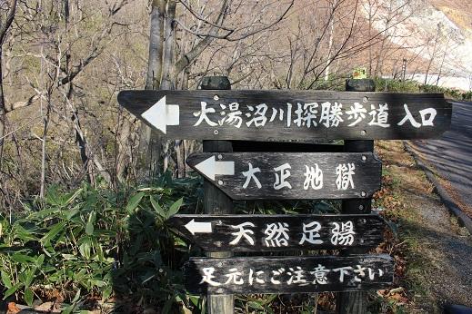 2014北海道旅行:登別温泉 大正地獄 天然足湯2