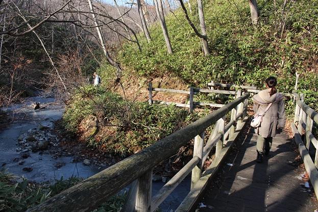 2014北海道旅行:登別温泉 大湯沼川遊歩道