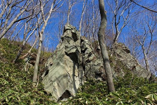 2014北海道旅行:登別温泉 国立公園 岩2