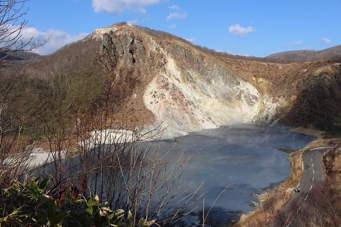 2014北海道旅行:登別温泉 日和山展望台
