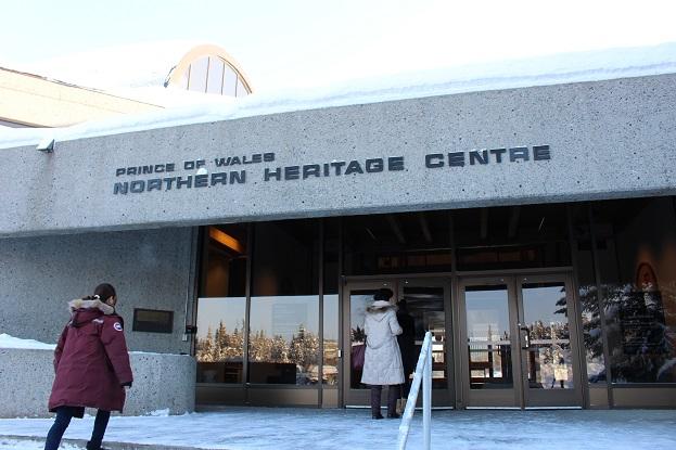 2015カナダ:0210イエローナイフ 博物館 外観