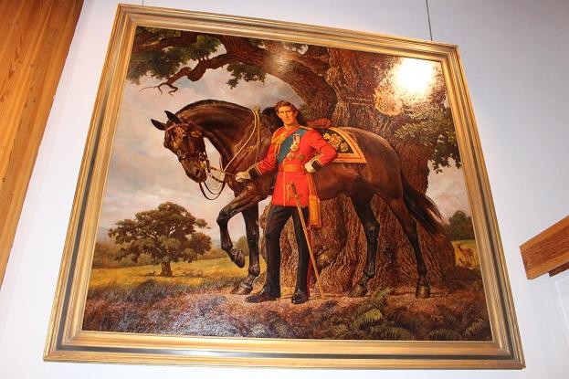 2015カナダ:0210イエローナイフ 博物館 皇太子