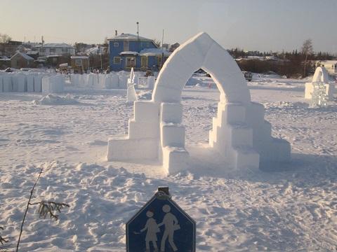 2015カナダ:イエローナイフ スノーキング