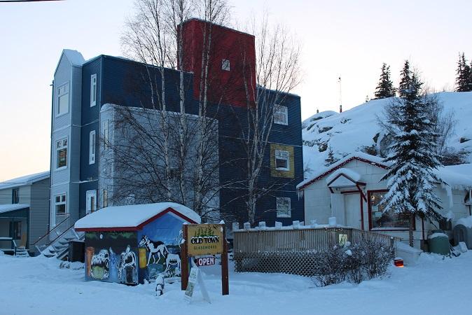 2015カナダ:0210イエローナイフ オールドタウン地区2
