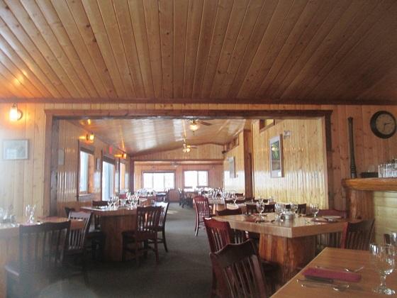 2015カナダ:イエローナイフ オーロラビレッジ レストラン2