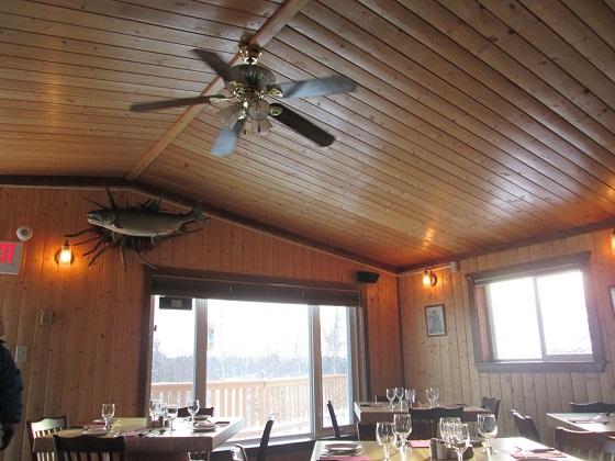 2015カナダ:イエローナイフ オーロラビレッジ レストラン3