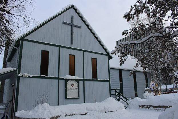 2015カナダ旅行:0212イエローナイフ 教会