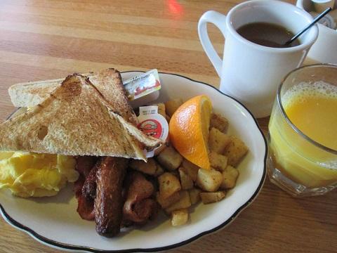 トロント:ナイアガラフォールズ オークスホテル 朝食