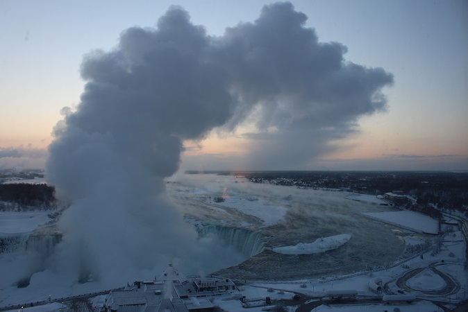 2015カナダ旅行:0213トロント ナイアガラの滝 ホテル