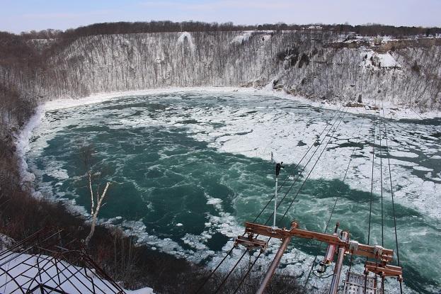 2015カナダ旅行:0213トロント ナイアガラの滝 渦