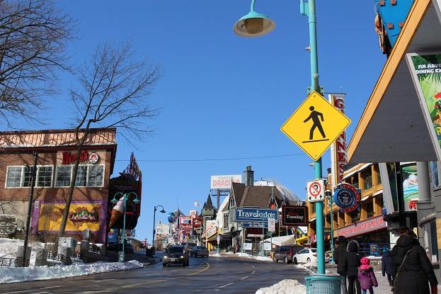 2015カナダ旅行:0213トロント クリフトン・ヒル