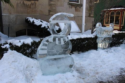 2015カナダ旅行:0213トロント ナイアガラオンザレイク 氷