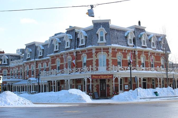 2015カナダ旅行:0213トロント ナイアガラオンザレイク ホテル