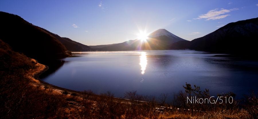 2015 01 02 本栖湖 日の出S
