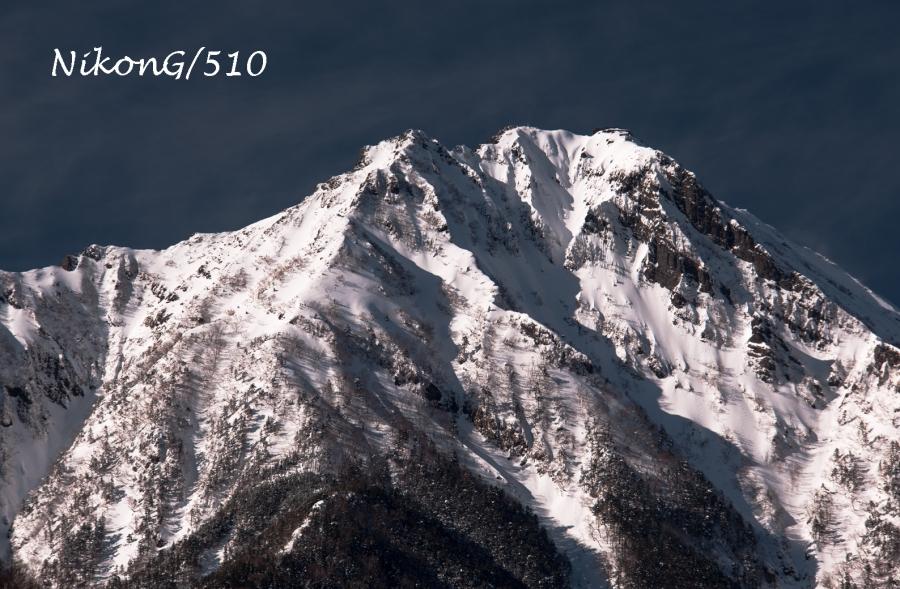 白い赤岳s