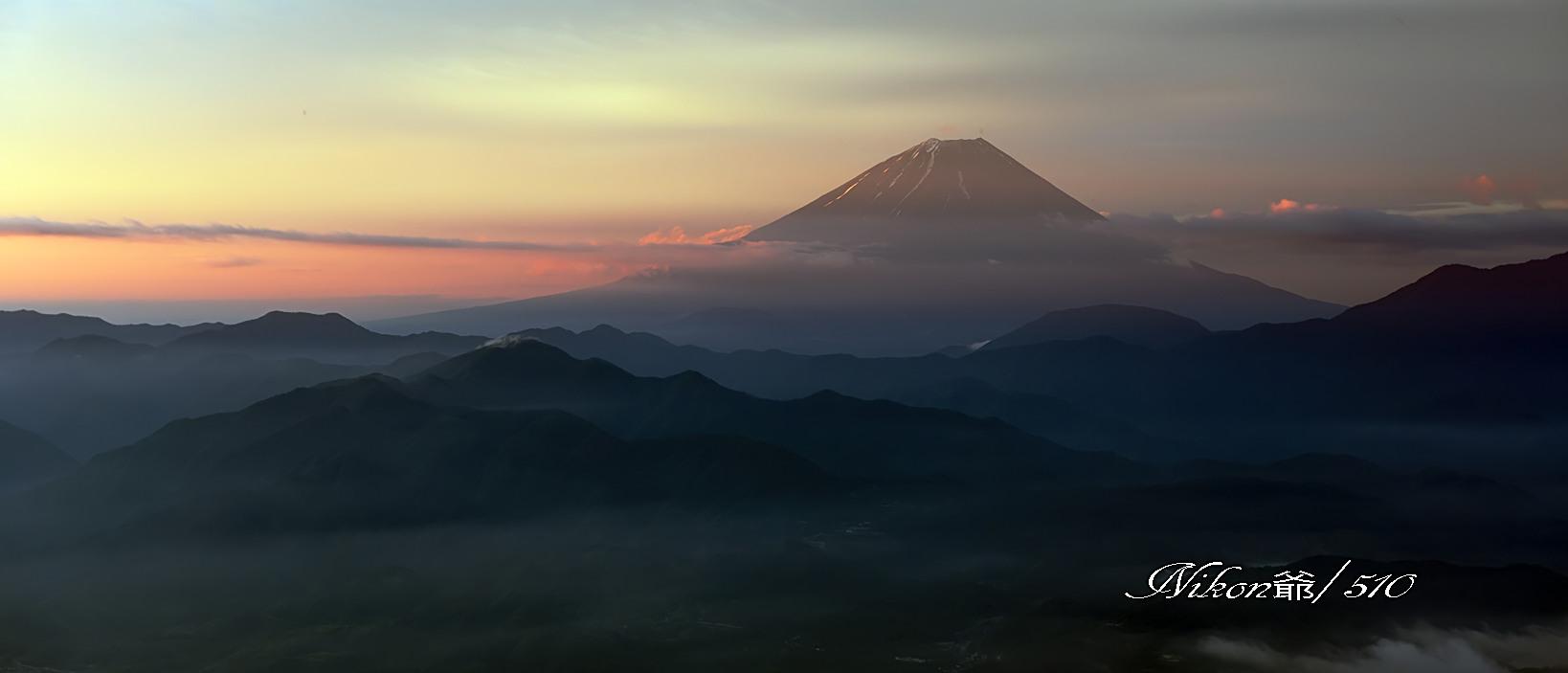 ある峠からの朝景Ⅱs_filtered