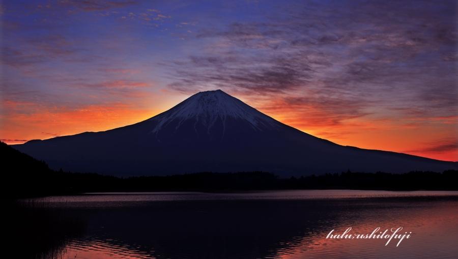 田貫湖の朝SS