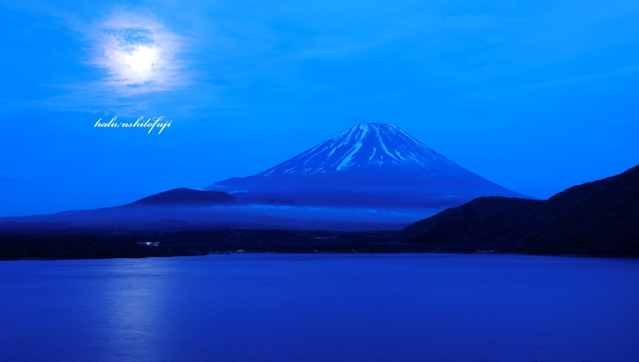 月夜富士 s