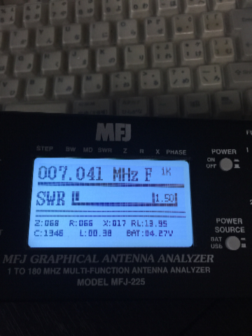 SD330 SWR1.5値