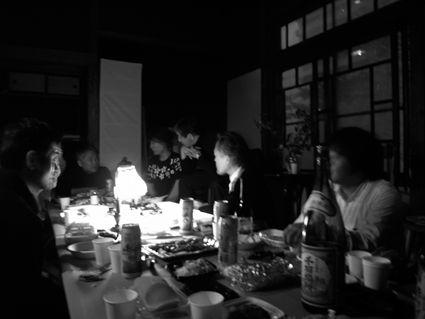 円山の家幽霊宴会