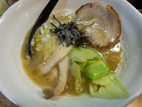 海老塩山賊麺