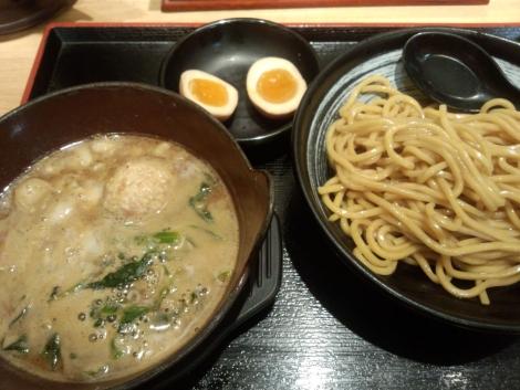 鶏豚魚介醤油つけ麺