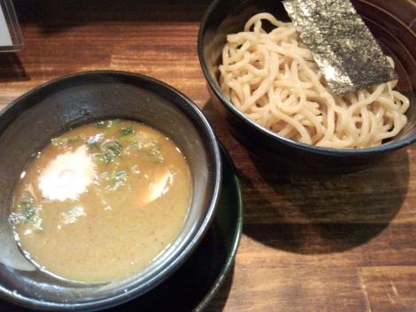 濃厚煮干つけ麺(¥750)