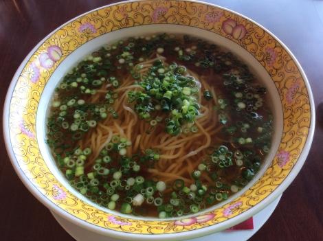 青葱スープそば