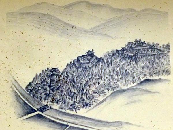 肥前千葉城想像図