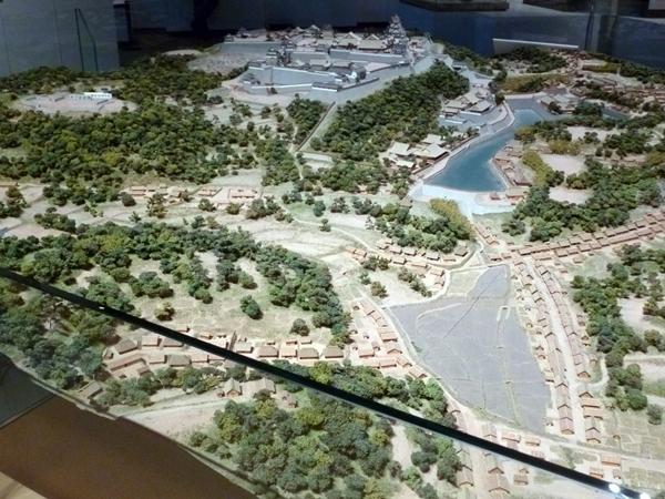 名護屋城模型