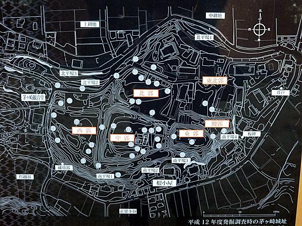 茅ヶ崎城縄張り