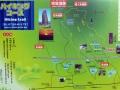 阿坂城地図