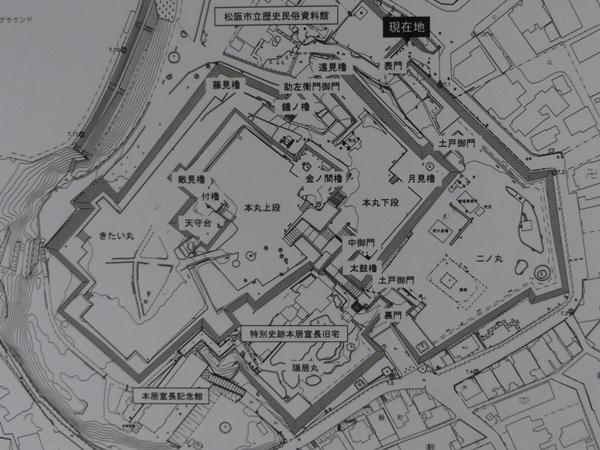 松坂城地図