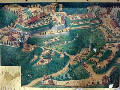 小浜城想像図