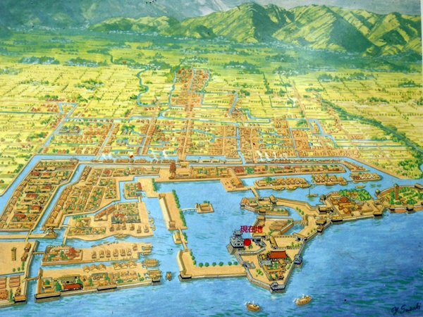 長浜城想像図