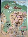 上平寺城案内図