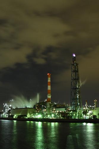 川崎工場夜景 DSC_1605