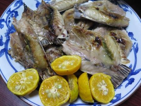 キハダマグロ塩焼き