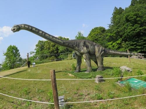 フルーツパーク ブラキオサウルス