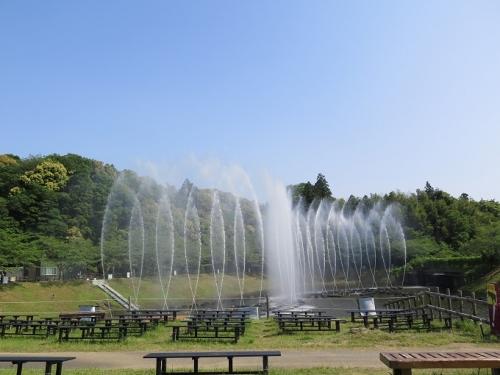 フルーツパーク 噴水ショー