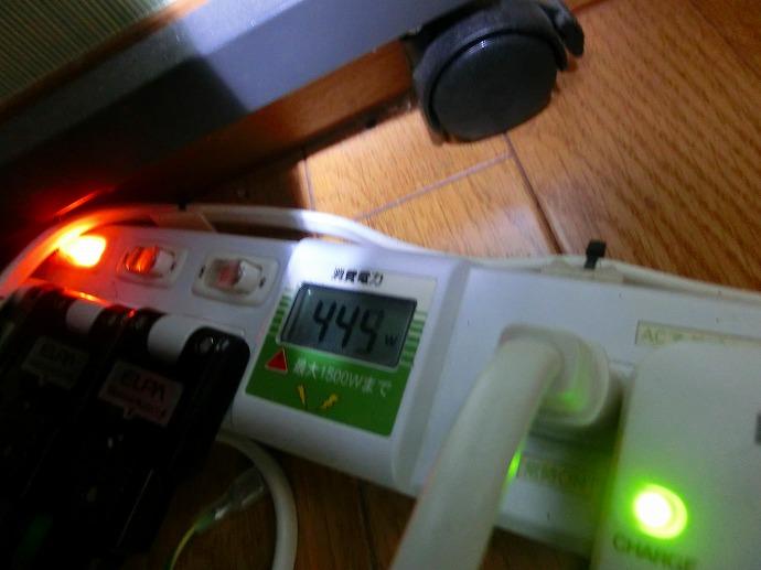 OC4500負荷電力