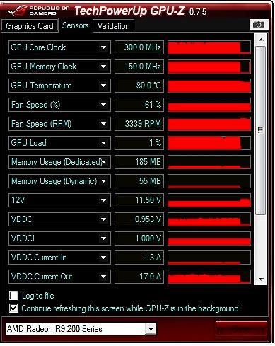 GPU 80℃